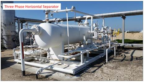 Three Phase Horizontal Separator